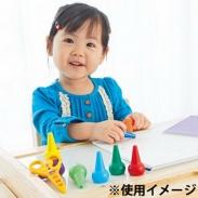 Bút sáp Baby Color (12 màu) Nhật