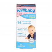 Vitamin Vitabiotics Wellbaby Infant Liquid 6m+ (150ml)