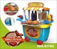 Xe đồ chơi BBQ House 8740