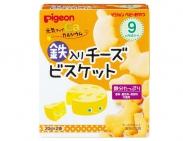 Bánh ăn dặm Pigeon  9M vị Phô mai