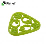 Lót nồi hoa xanh Richell HWRC15593