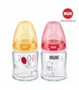 Bình sữa NUK thủy tinh Disney 120ml (Silicone)