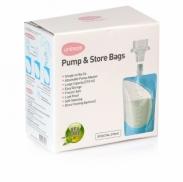 Túi trữ sữa trực tiếp từ máy hút sữa Unimom(10 túi)