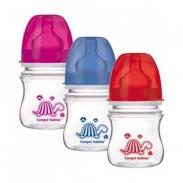 Bình sữa cổ rộng Canpol chống sặc easy start 35/205 (120ml)