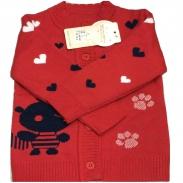 Áo len tay dài panda (9-12m)