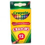 Bộ sáp màu 12 màu Crayola- Crayons