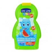 Sữa tắm gội 2in1 Onlinekids hương dưa hấu (250ml)