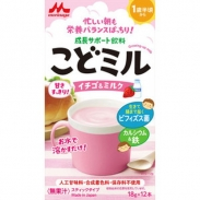 Sữa Morinaga Kodomil dâu (18gx12 gói) (18m+)