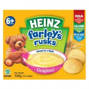Bánh ăn dặm Heinz Farley's Rusks vị truyền thống (120g)(6m+)