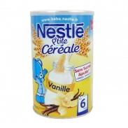 Bột ngũ cốc ăn dặm Nestle vị Vanille 6m (400g)