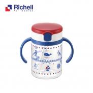 Cốc ống hút Richell (200ml) RC41021
