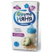 Sữa ngũ cốc Fruto vị táo (200ml) (6m+)