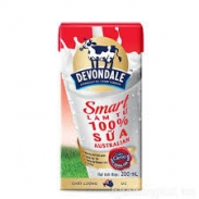 Sữa tươi Devondale Smart Milk 200ml