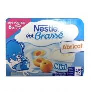 Sữa chua Nestle vị Đào (6x60g) (4-6m)