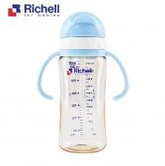 Bình ống hút PPSU Richell 320ml (xanh) RC99131