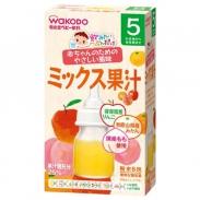 Trà tan hoa quả Wakodo 5M+ (táo, đào, cam)