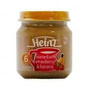 Dinh dưỡng đóng lọ Heinz vị chuối dâu (110g)(6m+)