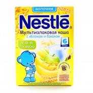 Bột ăn dặm Nestle Nga (Táo,chuối,ngô) (250g)