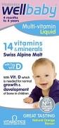 Vitamin Vitabiotics Wellbaby Infant Liquid 3m+ (150ml)