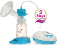 Máy hút sữa điện 2 giai đoạn có mát xa silicone UPASS - UP1642