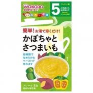 Bột ăn dặm Wakodo vị bí đỏ, khoai lang 5m+