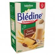 Bột pha sữa Bledina vị Choco Bích qui (400g) (12m+)