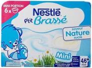 Sữa chua Nestle vị tự nhiên (6X60G) (4-6m)