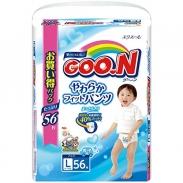 Bỉm quần Goon xách tay Nhật L56 bé trai (9 -14kg)