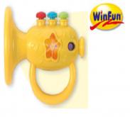 Kèn cầm tay trumpet có đèn nhạc winfun (3m+)