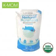 Nước xả vải sơ sinh thảo dược Kmom(1.3L)KM13124