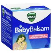 Kem bôi giữ ấm ngực giảm ho BabyBalsam Vicks (50g)