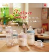 Bình sữa NUK PP Nature Sense 260ml (Silicone)