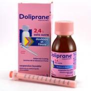 Thuốc hạ sốt, giảm đau Doliprane 2.4% 100ml