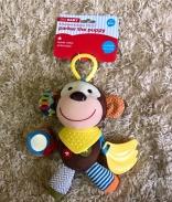 Thú bông đa giác quan Koning Kids (khỉ) (3m)