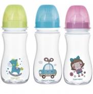 Bình Sữa Canpol Chống Đầy Hơi Toys 35/222 (300ml)