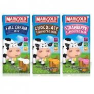 Sữa tươi Marigold 200ml (lốc x 6 hộp) (vị vani, Choco, Dâu)