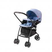 Xe đẩy trẻ em Aprica Luxuna Comfort CTS màu xanh