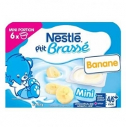 Sữa chua Nestle vị Chuối (6x60g) (4-6m)