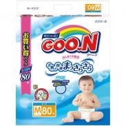 Bỉm dán Goon xách tay M80 (6 - 11kg)