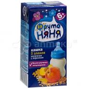 Sữa ngũ cốc ăn đêm Fruto vị đào (200ml) (6m+)