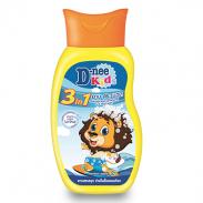 Sữa tắm gội xả Kids Dnee Rainbow Splash 200ml