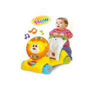 Xe  tập đi sư tử kết hợp xe chòi chân, scooter- winfun