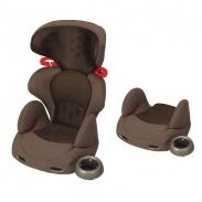 Ghế ôtô Combi Buon Junior Air màu ghi nâu (3Y+)