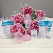 Bình sữa Dr Brown's nhựa cổ hẹp cho trẻ bú yếu (30ml)