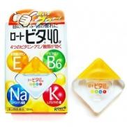 Thuốc nhỏ mắt Rohto Nhật loại vàng (12ml) (4m+)