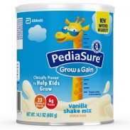 Sữa PediaSure Grow & Gain Vanilla Shake Mix