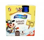 Váng sữa Paturages vị vani dạng túi (lốc 4x85g)