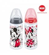 Bình sữa NUK PP Mickey 300ml ( Silicone)
