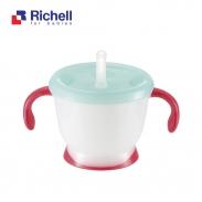 Cốc tập uống 3 giai đoạn Richell (đỏ) RC41013
