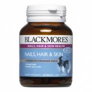 Viên Uống Đẹp Da, Móng Và Tóc - Blackmores Nails Hair Skin Úc, 60 viên